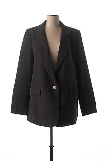 Veste chic / Blazer noir ATTENTIF pour femme