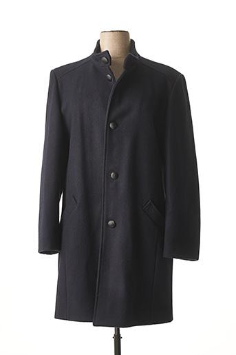 Manteau long bleu DALMARD MARINE pour homme