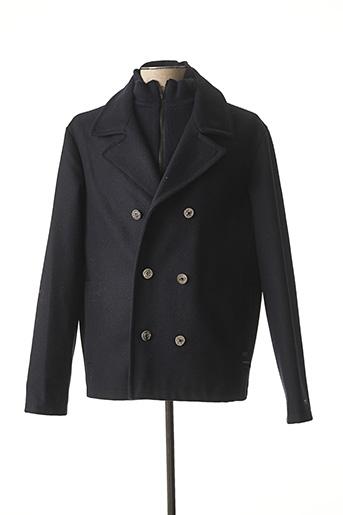 Manteau court bleu DALMARD MARINE pour homme