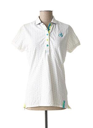 Polo manches courtes blanc JN-JOY pour femme