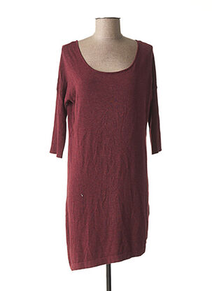 Robe pull rouge LES P'TITES BOMBES pour femme