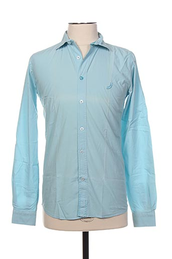 Chemise manches longues bleu JN-JOY pour garçon