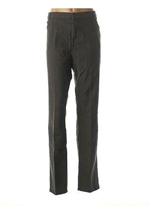 Pantalon casual bleu JEAN GABRIEL pour femme