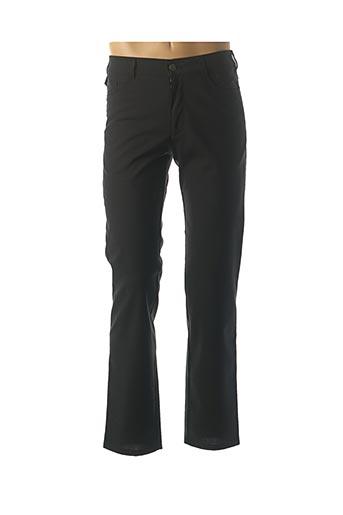 Pantalon casual noir MEYER pour homme