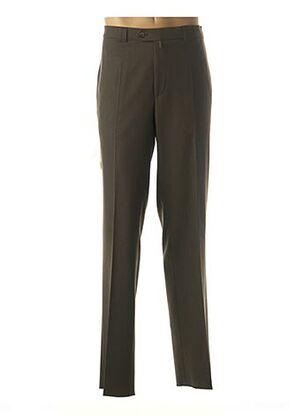 Pantalon casual vert MEYER pour homme