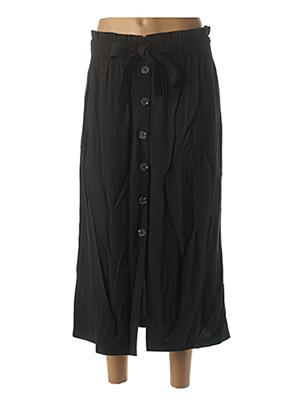 Jupe longue noir GRACE & MILA pour femme