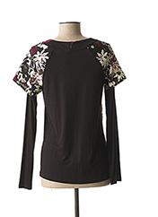 T-shirt manches longues noir JAC JAC pour femme seconde vue