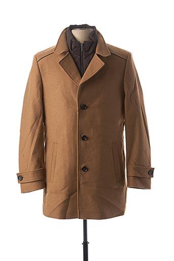 Manteau court beige FYNCH-HATTON pour homme