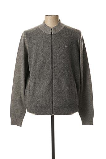 Veste casual gris FYNCH-HATTON pour homme