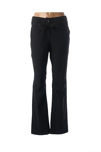 Pantalon casual noir ARELINE pour femme