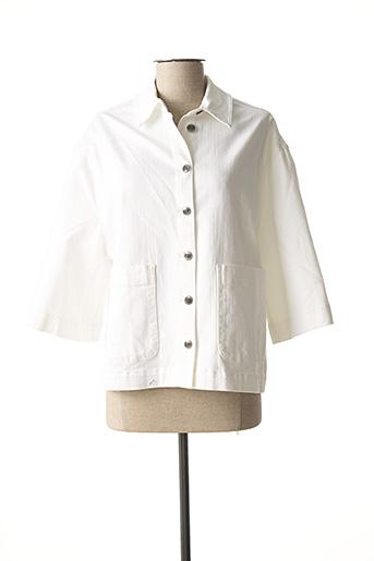 Veste en jean blanc MASAI pour femme