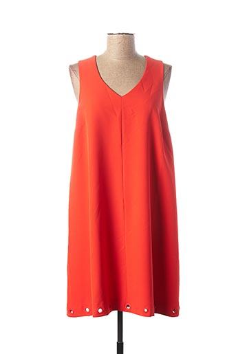 Robe courte orange KOCCA pour femme