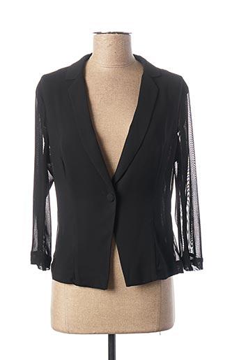 Veste casual noir KOCCA pour femme