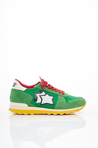Baskets vert ATLANTIC STAR pour homme