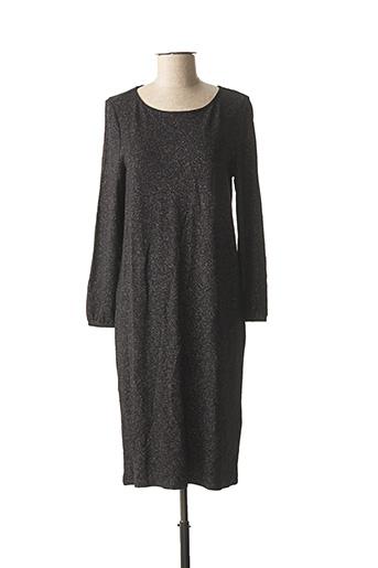 Robe mi-longue noir STREET ONE pour femme