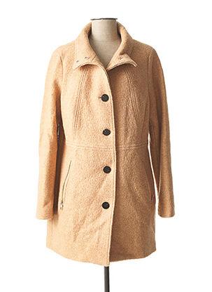 Manteau long beige STREET ONE pour femme