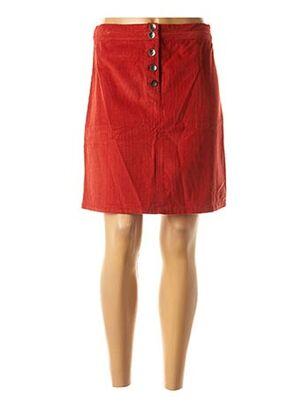Jupe courte rouge DIPLODOCUS pour femme