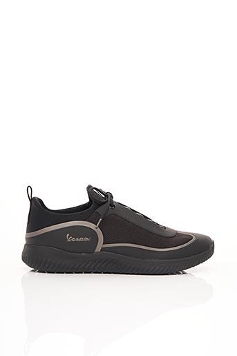 Baskets noir VESPA pour homme