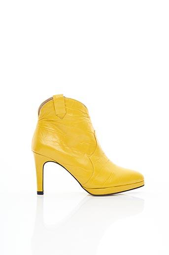 Bottines/Boots jaune AZUREE pour femme
