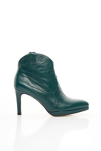 Bottines/Boots vert AZUREE pour femme