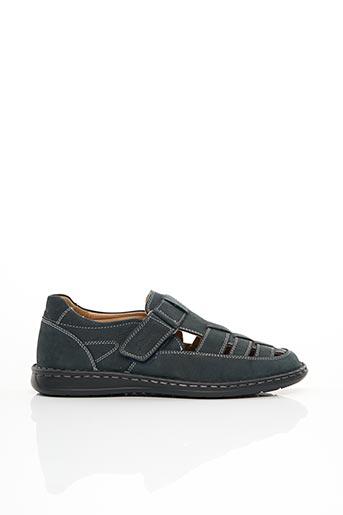 Sandales/Nu pieds bleu SIOUX pour homme