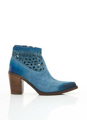Bottines/Boots bleu EMANUELE CRASTO pour femme