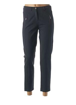 Pantalon casual bleu FRANK WALDER pour femme
