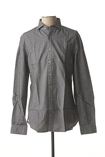 Chemise manches longues gris MICHAEL KORS pour homme