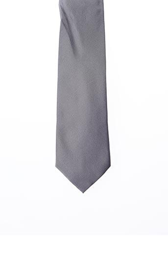 Cravate gris MICHAEL KORS pour homme