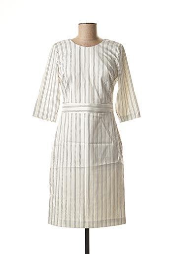 Robe mi-longue beige MEXX pour femme