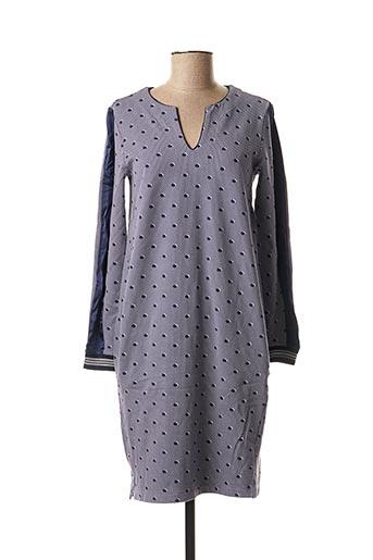 Robe mi-longue violet SANDWICH pour femme
