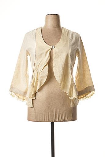 Veste chic / Blazer beige ENJOY pour femme