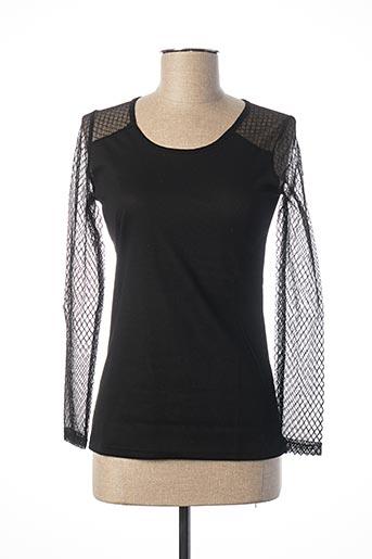 T-shirt manches longues noir EQUATION pour femme