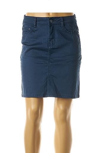 Jupe courte bleu EQUATION pour femme