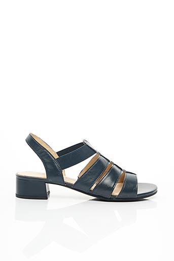 Sandales/Nu pieds bleu CAPRICE pour femme