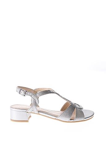 Sandales/Nu pieds gris CAPRICE pour femme