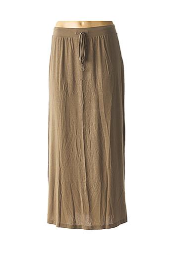 Jupe longue vert AWARE BY VERO MODA pour femme