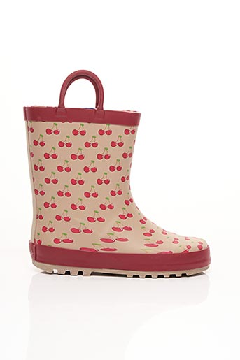 Bottes rouge BE ONLY pour fille
