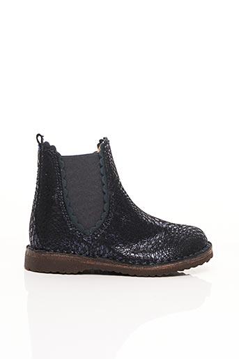 Bottines/Boots bleu BISGAARD pour fille