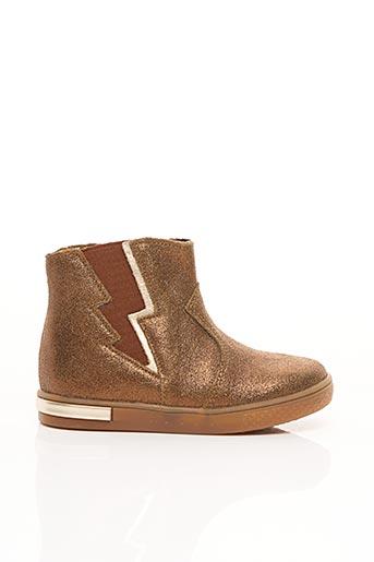 Bottines/Boots marron BABYBOTTE pour fille