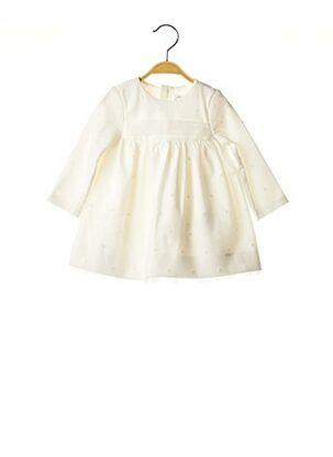 Robe mi-longue beige MAYORAL pour fille