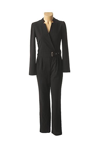Combi-pantalon noir MORGAN pour femme