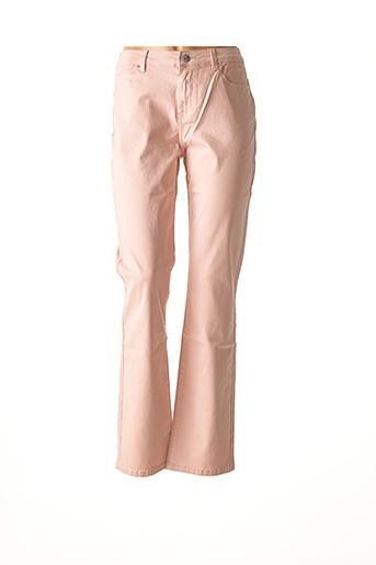 Pantalon casual rose DIANE LAURY pour femme