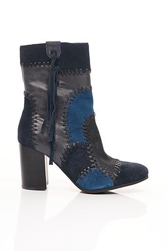 Bottines/Boots bleu MAM'ZELLE pour femme