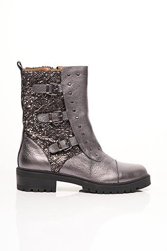 Bottines/Boots gris EMILIE KARSTON pour femme