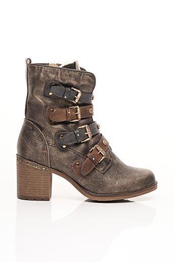 Bottines/Boots marron MUSTANG pour femme