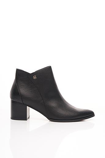 Bottines/Boots noir CHATTAWAK pour femme