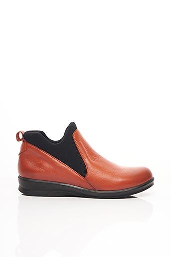 Chaussures de confort orange PAULA URBAN pour femme