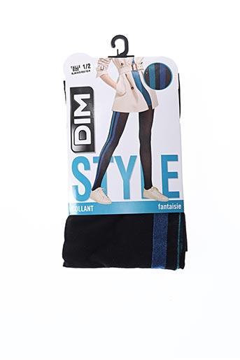 Collants bleu DIM pour femme