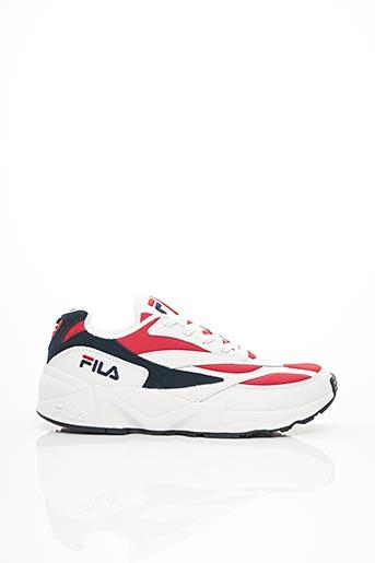 Baskets rouge FILA pour homme